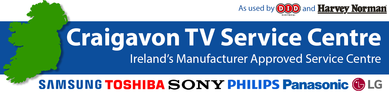 TV repair Dún Laoghaire - Samsung Sony LG Panasonic Philips